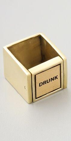 Monserat De Lucca Drunk / Sober Ring