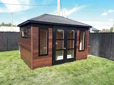 V145 Cabin Interiors, Sheds, Gazebo, Outdoor Structures, Patio, Studio, House, Gardens, Shed