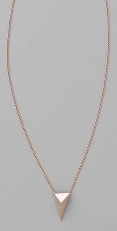 Alexis Bittar Pyramid Necklace