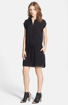 Paige Denim 'Mila' Shirtdress available at #Nordstrom
