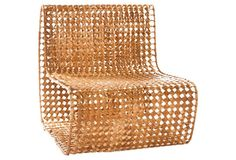 Vee Side Chair, Copper