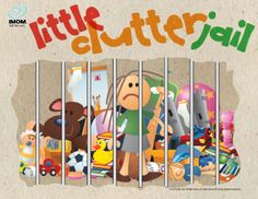 Little Clutter Jail #declutter