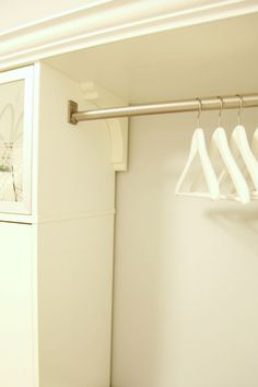 Lowes Closet Rod Wall Shelf With Hanging Rod From Lowes I Need A Shelf With A Rod