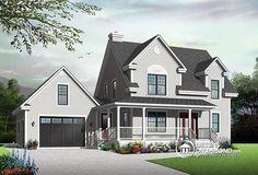 Plan de maison no. W2590-V2 de dessinsdrummond.com