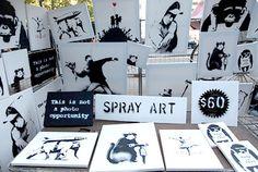 Banksy / New York City 2013
