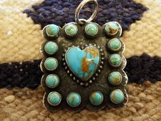Silver & Turquoise Pendant