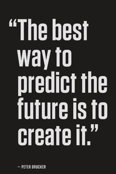 Create your own future! #Motivation #Quote