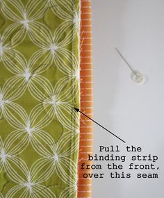 Machine Binding Tutorial | Cluck Cluck Sew