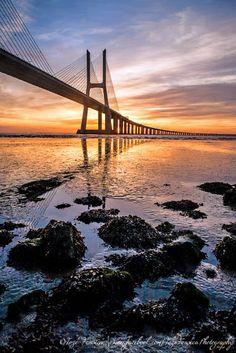 Ponte Vasco da Gama, Lisboa.