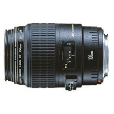 Canon EF 100mm f/2.8 Macro Lens on Amazon