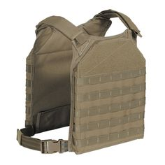 RAPID – ASSAULT – TACTICALNewly designed to hold up to 10″x12″ plates in front and rear hook-nloop plus snap closure secure pockets. Padded, hook-n-loop adjustable shoulder straps combined with adjustable side straps make for a perfect fit and easy on/off. We've added a large hook-n-loop ID Patch area to front and back. Lots of MOLLE webbing front and back to attach any necessary pouches. Ideal for wear over soft body armor for added level of protection. Great for personal security details…