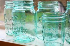 DIY: How to Tint Mason Jars