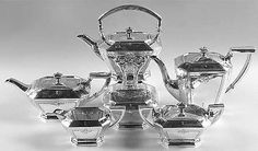 Sterling Silver Tea Sets at Replacements, Ltd