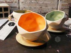 5 AM Tea Cups, Branding Design, Designers, Fish, Tableware, Kitchen, Dinnerware, Cooking, Pisces