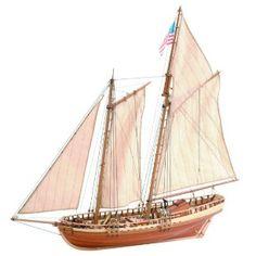 Ship model Visginia,  wooden kit Artesania Latina (www.victoryshipmodels.com)