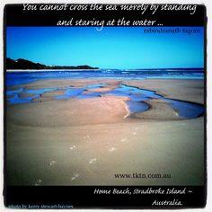 (photo taken Home Beach, Stradbroke Island <3).