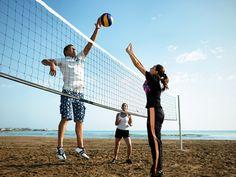 Jumeirah Beach Hotel, Dubai - Family Holidays - Talise Fitness - Beach Volleyball