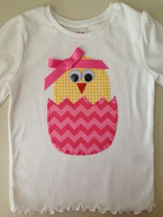 Baby Chick Easter Shirt. $20.00, via Etsy.