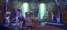 The Walls of Knowledge by Devinian on DeviantArt Mlp Twilight, Princess Twilight Sparkle, Scooby Doo Mystery Incorporated, My Little Pony Cartoon, The Dark Knight Trilogy, Mlp Pony, Magic Circle, My Little Pony Friendship, Artist Names