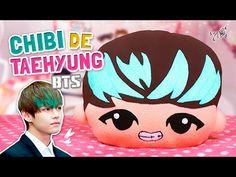 DIY KPOP ★ HAZ TU PELUCHE CHIBI DE V (Taehyung) - BTS ♡ DECORA TU HABITA...