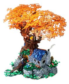 """GiocoVisione na Twitteri: """"Thoryn Arper Tree House by César Soares #TreeHouse in #Fantasy Style #LEGO #MOC More on https://t.co/rGI5coevLW https://t.co/3vLUYVS17P"""""""