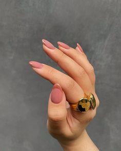 Cute Nails, Pretty Nails, White French Nails, Les Nails, Minimalist Nails, Dream Nails, Cool Nail Designs, Almond Nails, Nail Trends