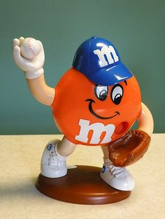 M & M  Character Baseball Player Toy