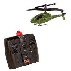 Air Hogs R/C AH-64 Apache Havoc Heli Indoor Infrared Micro Helicopter by Spin Master. $44.99. The Spinmaster R/C Air Hogs AH-64 Apache Havoc Heli is a licensed product by Boeing. No assembly required. Very easy to fly. Ages 8+. Four way control. Fly indoors in any room. Average flight time aprox 6-8 minutes. Includes lithium polymer flight battery in the helicopter. The transmitter requires 6 AA batteries (sold separately). The transmitter doubles as the charger for the heli...