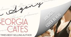Cover Reveal for Dear Agony by Georgia Cates #giveaway