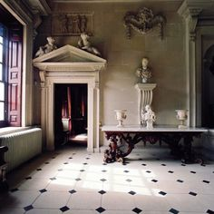 sylvanus-urban:  Houghton Hall, Norfolk, a Palladian mansion built for Sir Robert Walpole.