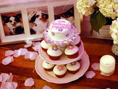 Among the refreshments at the posh New York Puputante Party were pastries and cupcakes prepared by The Bubba Rose Biscuit Company.