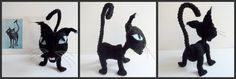 free crochet patterns: inspired cat pattern (wyborn's cat) - crafts ideas - crafts for kids