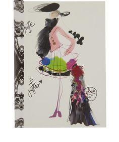 Christian Lacroix Papier Fashion Sketch Notebook