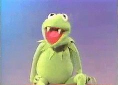 Funny Gif Of The Day: Kermit Feeds On Vincent Price