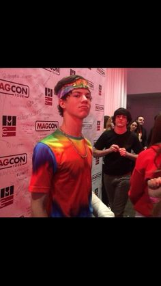 Taylor Caniff in tie dye