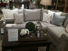 1000+ ideas about Gray Sectional Sofas on Pinterest | Grey ... Sectional Sofa Decor