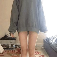 Thinspo Imagine Thighs/Legs: Imagine sitting down in your car, or chair, or desk and seeing a space in between your legs. Oversized Jumper, Porno, Sexy Gif, Miranda Kerr, Videos, Asian Girl, Sexy Women, Lady, Cute