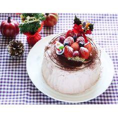 クミタス レシピ クリスマス♪切株のチョコレートケーキ(小麦・乳製品・ナッツ不使用)