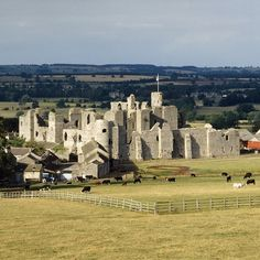At the core of Middleham Castle lies a mighty Norman keep – but by the mid-15th century, the castle had been turned into a fortified palace known as the 'Windsor of the North'.