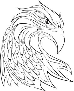 Find images of Eagle+Head. Abstract Pencil Drawings, Animal Drawings, Eagle Drawing, Line Drawing, Sketchbook Inspiration, Art Sketchbook, Adler Tattoo, Eagle Painting, Eagle Vector