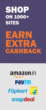 Cashback and rewards.