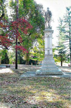 Danvile, Kentucky Civil War sites War Memorials, Confederate Monuments, My Old Kentucky Home, Roads, Exploring, Fountain, History, Usa, Winter