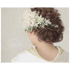 European Wedding, Headdress, Wedding Hairstyles, Marriage, Hair Beauty, Hair Styles, Kimono, Dresses, Fashion