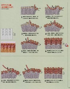 This book presents 300 knitting stitch patterns arranged according to their main design elements (see table of content below). Description from slowknits.com. I searched for this on bing.com/images