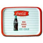 King Size Ice Cold Coca-Cola Serving Tray (Melamine)
