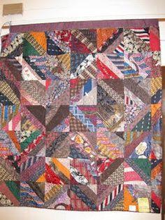 Wyoming Breezes: Necktie Quilt
