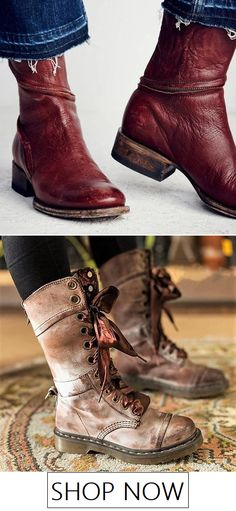 Shop Mollyca's boutique featuring emerging women's apparels, chic dresses, fashion clothing, shoes and Bags !Shop for latest styles today! Vintage Boots, Heeled Loafers, Winter Shoes, Wedge Boots, Snow Boots, Riding Boots, Footwear, Shoe Bag, Warm