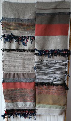 rachelbeckman:    Took a personal day to work on my anxiety, and this is what I did with my morning.  Woven blanket/ throw.