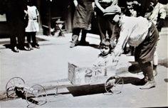 1914 soap box car photo taken in New York City.