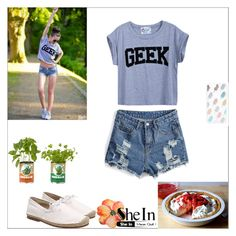 """PICNICKY"" by sheinside ❤ liked on Polyvore featuring Sonix"